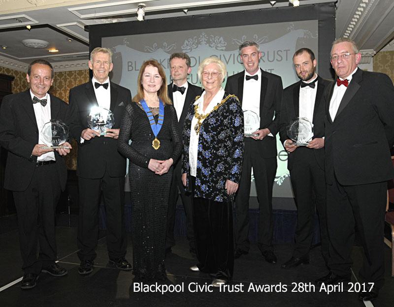 Blackpool Civic Trust Award Winners