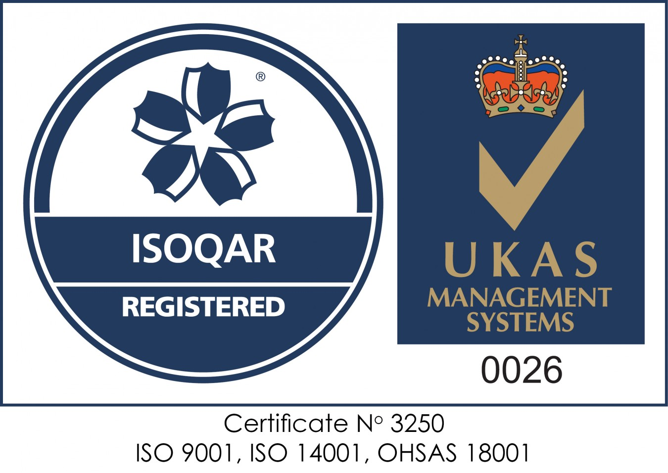 ISOQAR 3 Year Re-certification